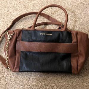 Steve Madden Duo-Tone Shoulder Bag